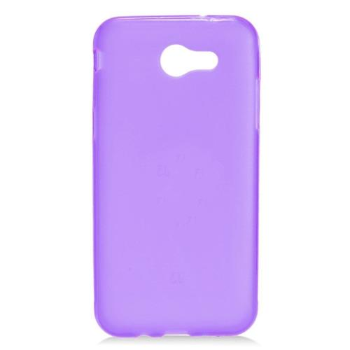 Insten Frosted Gel Cover Case For Samsung Galaxy J3 (2017), Purple
