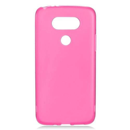 Insten Frosted Gel Case For LG G5, Hot Pink