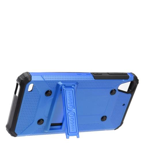 Insten Hard Hybrid TPU Case w/stand For HTC Desire 530, Blue/Black