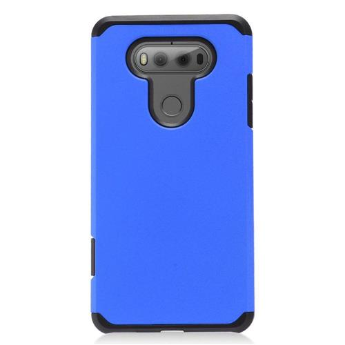 Insten Hard Dual Layer TPU Cover Case For LG V20, Blue/Black
