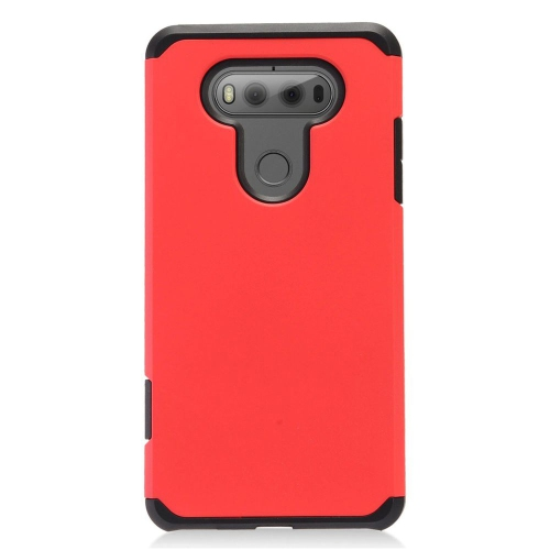 Insten Hard Hybrid TPU Case For LG V20, Red/Black
