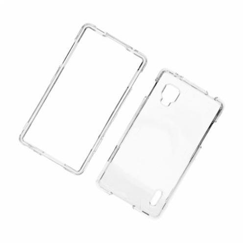 Insten Hard Plastic Case For LG Optimus G LS970 Sprint, Clear