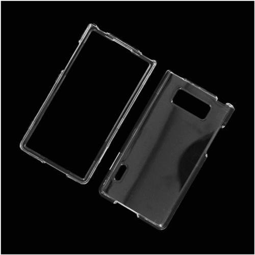 Insten Hard Plastic Case For LG Splendor US730 / Venice LG730, Clear
