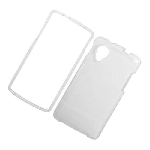 Insten Hard Plastic Case For LG Google Nexus 5 D820, Clear