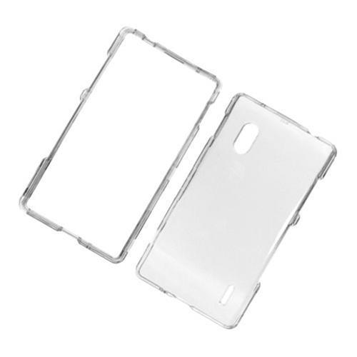 Insten Hard Plastic Cover Case For LG Optimus G E970, Clear