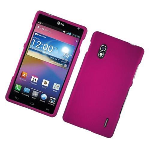 Insten Hard Cover Case For LG Optimus G E970, Hot Pink