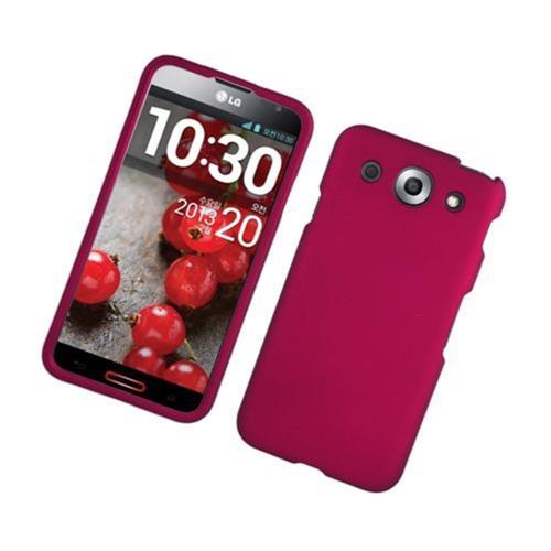 Insten Hard Cover Case For LG Optimus G Pro E980, Hot Pink