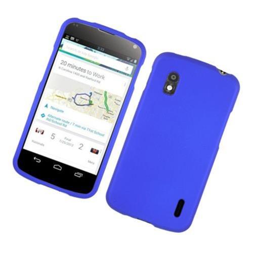 Insten Hard Case For LG Google Nexus 4 E960, Blue
