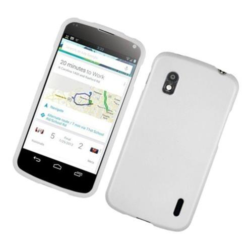 Insten Hard Case For LG Google Nexus 4 E960, White