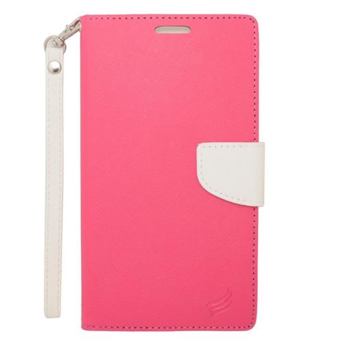 Insten Flip Case For LG V10/V20, Samsung Galaxy Note 4/Note 5/S6 Edge Plus, ZTE ZMax, Pink