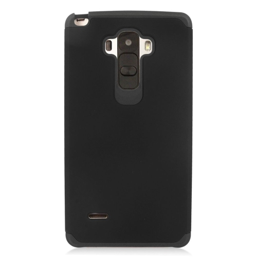 Insten Hybrid Rubberized Hard PC/Silicone Case For LG G Stylo LS770/G Vista 2, Black
