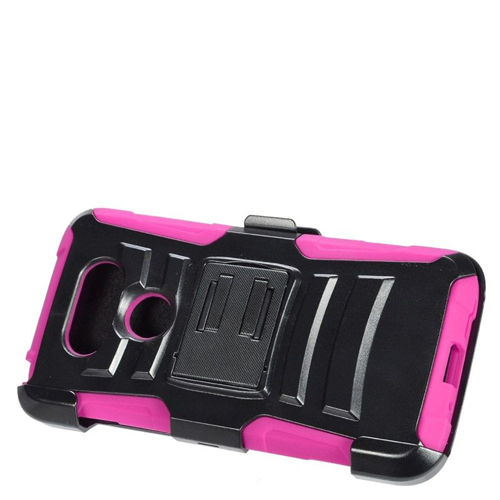 Insten Holster Case for LG G5 - Hot Pink;Black