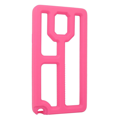 Insten TPU Cover Case For Samsung Galaxy Note 4, Hot Pink