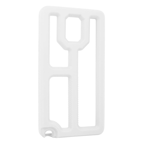 Insten Rubber Cover Case For Samsung Galaxy Note 4, White