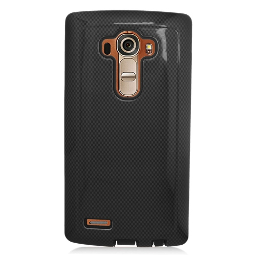 Insten Fitted Soft Shell Case for LG G4 - Black