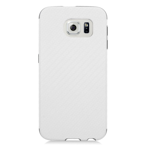 Insten Fitted Soft Shell Case for Samsung Galaxy S6 - White;Black