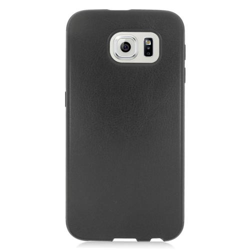 Insten Leather Case Cover Compatible With Samsung Galaxy S6 SM-G920, Black