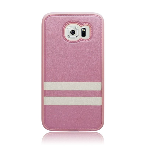 Insten Leather Case Cover Compatible With Samsung Galaxy S6 SM-G920, Pink