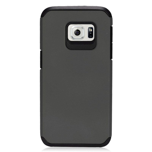 Insten Hybrid Rubberized Hard PC/Silicone Case For Samsung Galaxy S7, Black
