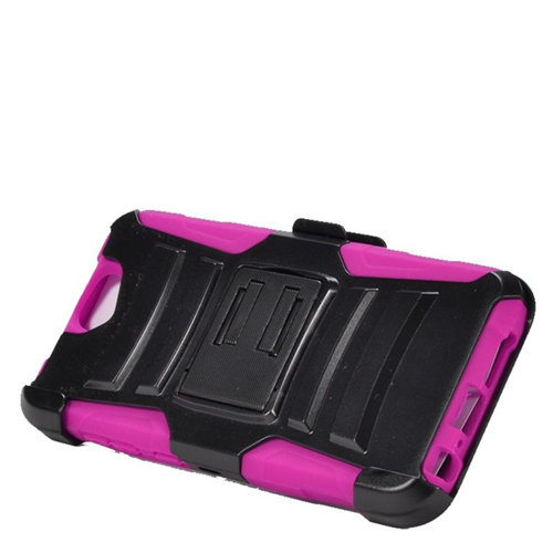 Insten Holster Case for HTC One A9 - Hot Pink;Black