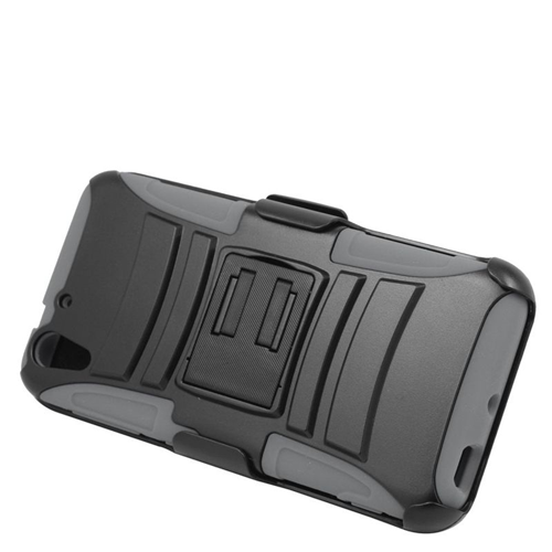 Insten Holster Case for HTC Desire Eye - Black;Gray
