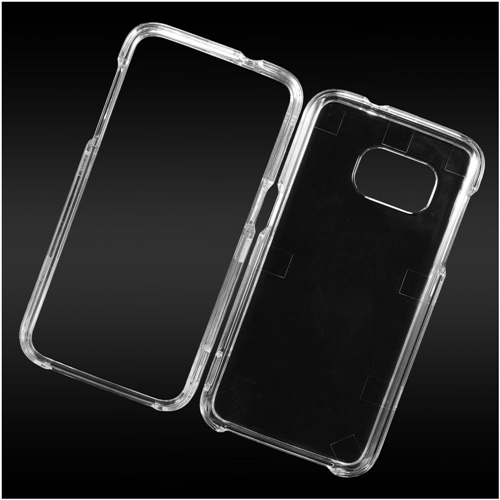 Insten Fitted Hard Shell Case for Samsung Galaxy S7 - Clear