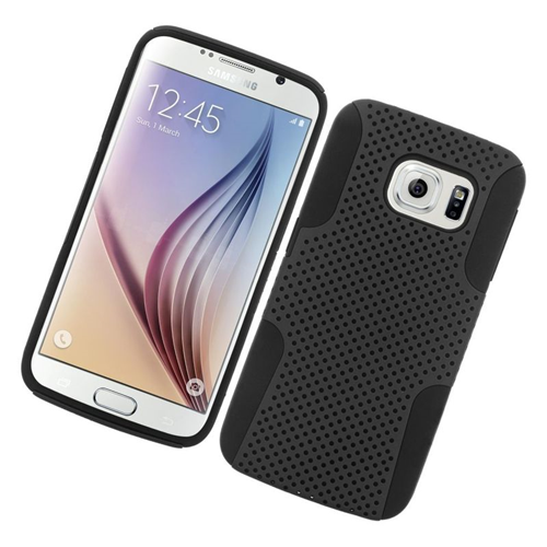 Insten Astronoot Hybrid PC/TPU Rubber Case For Samsung Galaxy S6 SM-G920, Black