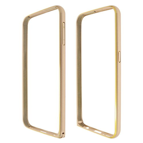 Insten Metal Aluminum Bumper Case Cover Compatible With Samsung Galaxy S6 SM-G920, Gold