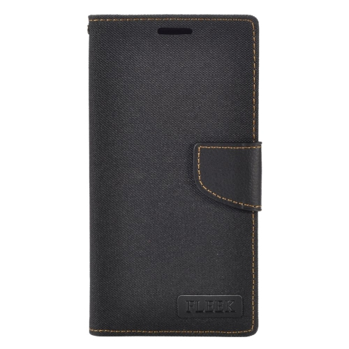 Insten Folio Leather Fabric Case w/stand/card holder/Photo Display For LG V10, Black
