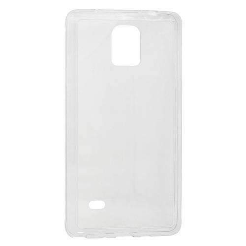 Insten TPU Rubber Candy Skin Case Cover Compatible With Samsung Galaxy Note 4, Clear