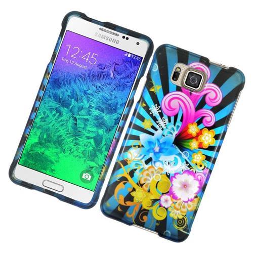 Insten Fireworks Hard Snap-in Case For Samsung Galaxy Alpha SM-G850A/SM-G850T, Colorful