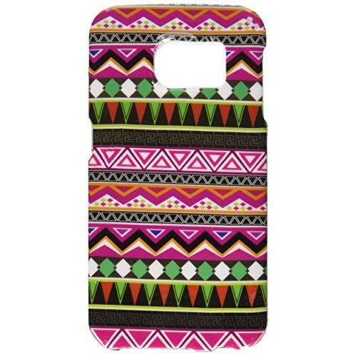 Insten Elegant Tribal Rubberized Hard Snap-in Case For Samsung Galaxy S6 Edge, Colorful