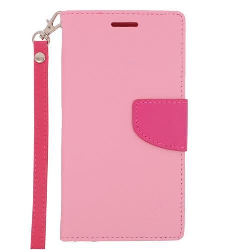 Insten Wallet Case for LG G4 - Hot Pink