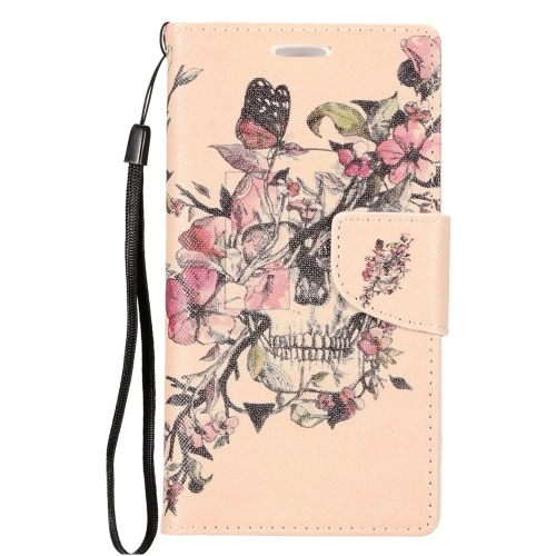Insten Flowers Flip Leather Case w/stand/card slot For LG Optimus Zone 3/Spree, Colorful