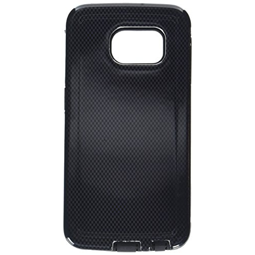 Insten Hybrid Rubberized Hard PC/Silicone Case For Samsung Galaxy S6 Edge, Black