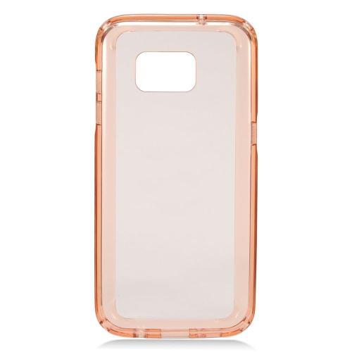 Insten Skin Case for Samsung Galaxy S7 Edge - Rose Gold