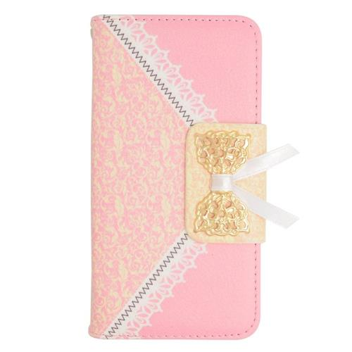 Insten Book-Style Leather Case For LG Optimus Exceed 2 VS450PP Verizon/Optimus L70/Realm, Pink