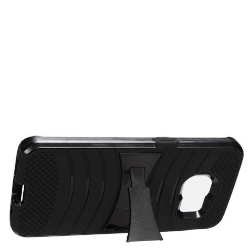 Insten Fitted Soft Shell Case for Samsung Galaxy S7 Edge - Black