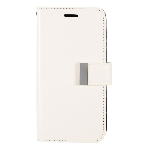 Insten Folio Leather Fabric Case w/card slot/Photo Display For LG G Stylo LS770/G Vista 2, White