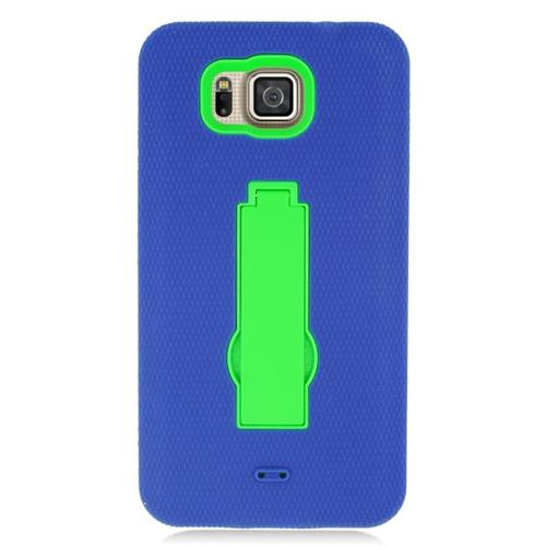 Insten Hybrid Case For Samsung Galaxy Alpha SM-G850A (AT&T)/SM-G850T (T-Mobile), Blue/Green