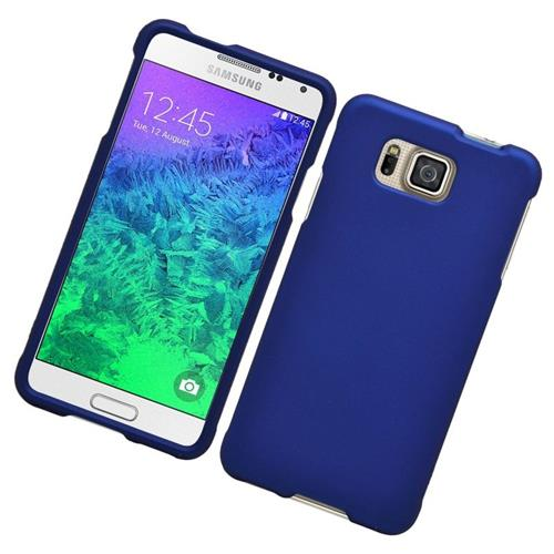 Insten Hard Snap-in Case For Samsung Galaxy Alpha SM-G850A (AT&T)/SM-G850T (T-Mobile), Blue