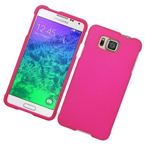 Insten Hard Snap-in Case For Samsung Galaxy Alpha SM-G850A (AT&T)/SM-G850T (T-Mobile), Hot Pink