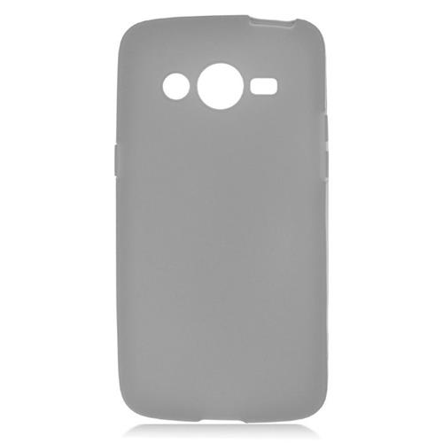 Insten TPU Rubber Candy Skin Case Cover Compatible With Samsung Galaxy Avant, Black