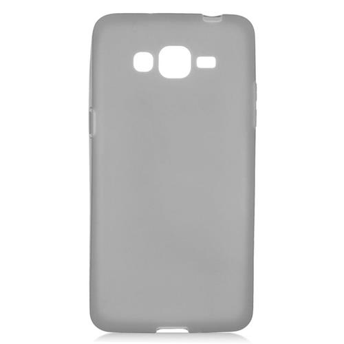Insten TPU Rubber Candy Skin Case Cover Compatible With Samsung Galaxy Grand Prime, Black