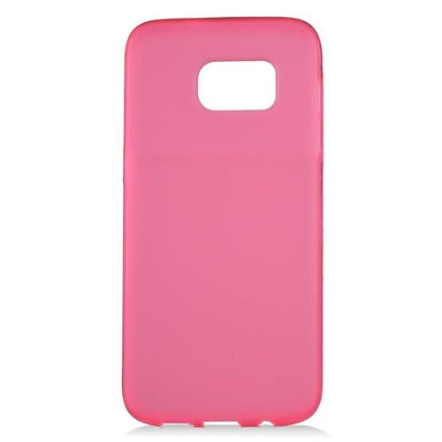 Insten Fitted Soft Shell Case for Samsung Galaxy S7 Edge - Hot Pink