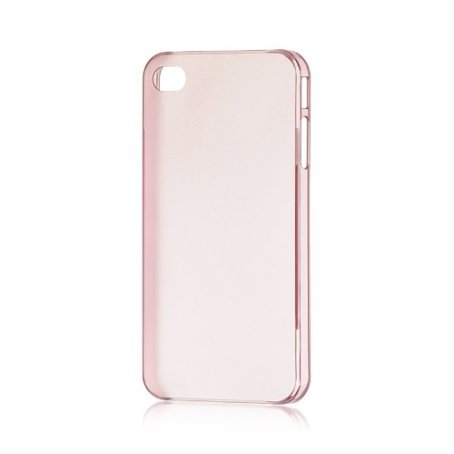 Insten TPU Rubber Candy Skin Case Cover Compatible With Apple iPhone 4/4S, Hot Pink