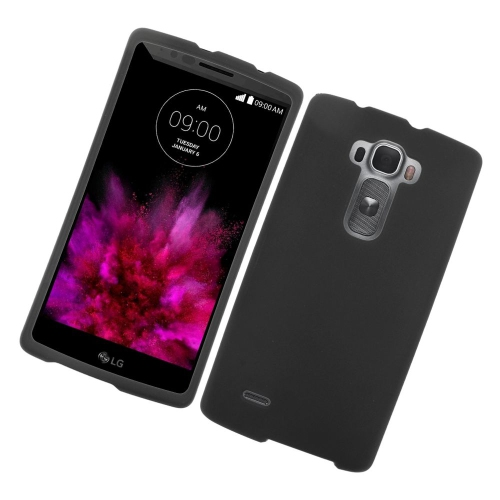 Insten Rubberized Hard Snap-in Case Cover Compatible With LG G Flex 2, Black