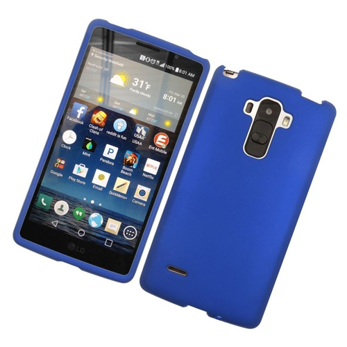 Insten Fitted Hard Shell Case for LG G Stylo - Blue