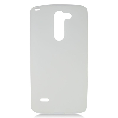 Insten TPU Rubber Candy Skin Case Cover Compatible With LG G3 Stylus, Clear