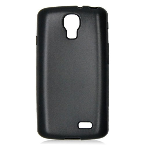 Insten TPU Rubber Candy Skin Case Cover Compatible With LG F70 D315, Black